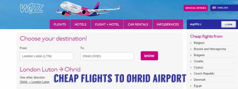 Wizz Air Grows Ohrid Network Vis Poj Destination Management Company